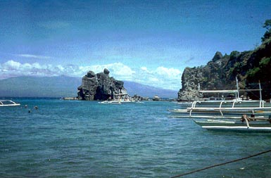 Harbour in Apo, Negros, Philippines